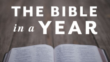 Read Through the Bible in 2018