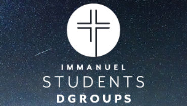 HS DGroups / MS Small Groups