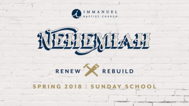 "Dr. Steven Smith – Nehemiah – ""Introduction"""